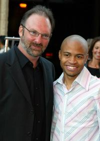 Director Dwight H. Little and Eugene Byrd at the Los Angeles screening of