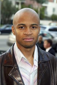 Eugene Byrd at the screening of