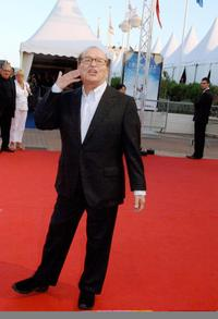 Sidney Lumet at the 33rd US film festival in Deauville for the screening of his film