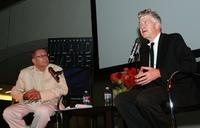 David Lynch at the Hammer Museum for the Q & A after his film