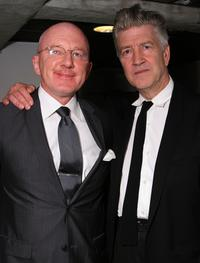 David Lynch at the Hammer Museum for screening of