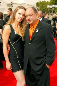 Cheech Marin and Natasha Rubens at the 2007 NCLR ALMA Awards.