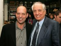 Gary Marshall and A.D. Oppenheim at Barney Greengrass for the 5th annual Tribeca Fim Festival after party for