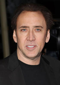 Nicolas Cage at the California premiere of