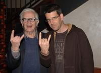 Albert Maysles and Jeff Feuerzeig at the screening of