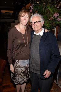 Jane Rosenthal and Albert Maysles at the 2007 Tribeca Film Festival.