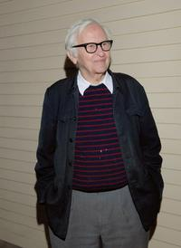 Albert Maysles at the New York screening of