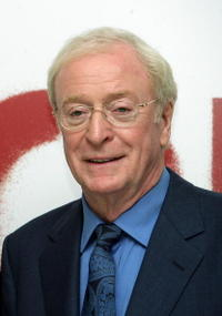 Michael Caine at the London premiere of