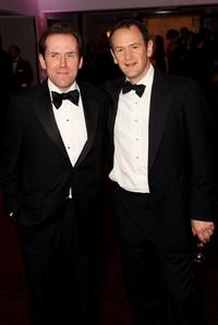 Ben Miller and Alexander Armstrong at the after party of the British Academy Television Awards 2008.