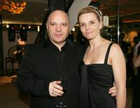 Anthony Minghella and Juliette Binoche at the Toronto International Film Festival Dinner For