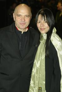Anthony Minghella and Carolyn Choa at the Orange British Academy Film Awards.