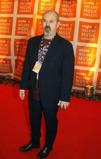 Keith Allen at the Meteor Ireland Music Awards 2007.