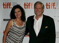 Genevieve Bujold and Michael Murphy at the screening of