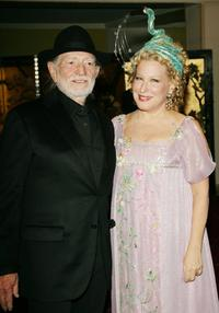 Willie Nelson and Bette Midler at the Bette Midler's New York Restoration Project's Annual Hulaween gala benefit.