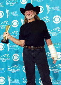 Willie Nelson at the 39th Annual Country Music Awards.
