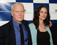 Paul Newman and Julia Roberts at the