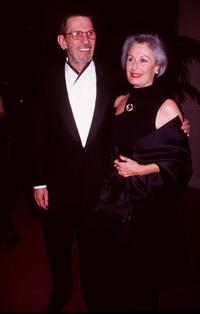Leonard Nimoy and Guest at the 1998 American Film Institute Life Achievement Award Salute to Robert Wise.
