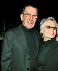 Leonard Nimoy and Susan at the Alliance For Children's Rights 11th Annual Dinner.