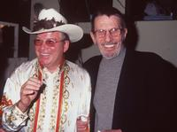 William Shatner and Leonard Nimoy at the 7th Annual Hollywood charity horse show.