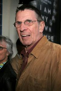 Leonard Nimoy at the California opening night of