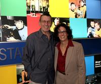 Leonard Nimoy and Elizabeth Kalodner at the Licensing International Expo.