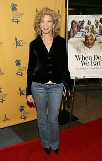 Nancy Allen at the premiere of