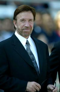 Chuck Norris at the 2003 Breeders' Cup World Thoroughbred Championships.