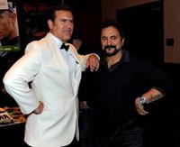 Bruce Campbell and Tom Savini at the Fangoria Trinity of Terrors Festival.