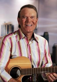 Glen Campbell at an photocall at Sydney Opera House.