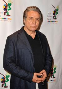 Edward James Olmos at the reading of