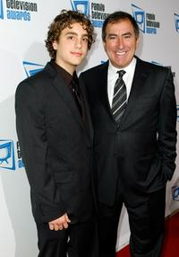 Kenny Ortega and Kyle Ortega at the 9th annual Family Television Awards.