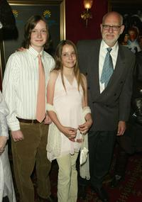 Frank Oz and his family at the premiere of