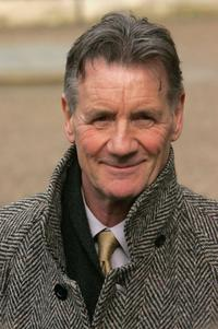 Michael Palin at the Memorial Service For Comedian Ronnie Barker.