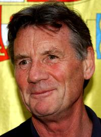 Michael Palin at the premiere of