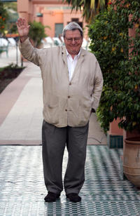 Alan Parker at the 44th edition of the International Film Festival of Marrakesh.