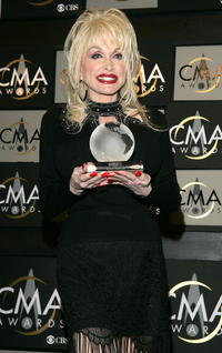 Dolly Parton at the 38th Annual CMA Awards.