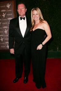 Robert Patrick and Barbara Patrick at the