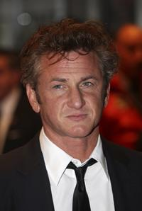 Sean Penn at the BFI 51st London Film Festival.
