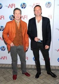 Jeffrey Kurland and Wally Pfister at the Eleventh Annual AFI Awards.