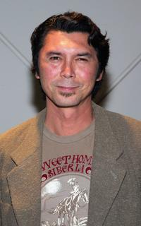 Lou Diamond Phillips at the CBS's