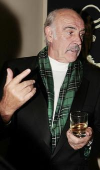 Sean Connery at the Edinburgh International Film Festival 60th party.