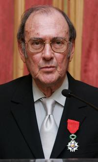 Harold Pinter awarded Legion d'honneur by the French Prime Minster Dominique de Villepin.
