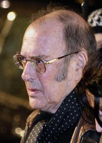 Harold Pinter at the London premiere of the film
