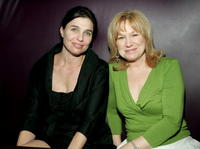 Sheila Berger and Mary Kay Place at the after party of the premiere of