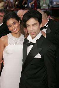 Manuela Testolini and Prince at the 77th Annual Academy Awards.