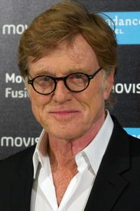 Robert Redford at the Sundance Channel launch cocktail in Madrid.