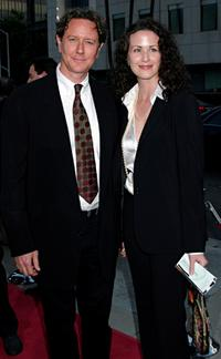 Judge Reinhold and his wife Amy at the world premiere of