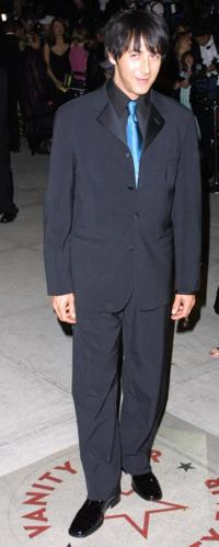 Paul Reubens at the Vanity Fair post Oscar party.
