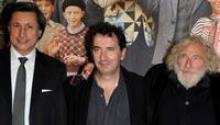 Patrick De Carolis, Francois Morel and Pierre Richard at the premiere of