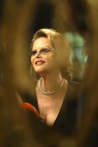 Claudia Cardinale at the 54th annual Berlin International Film Festival.